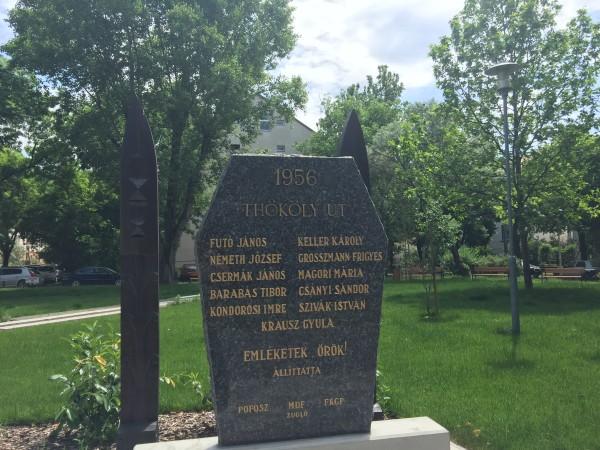 Thököly úti mártírok emlékműve
