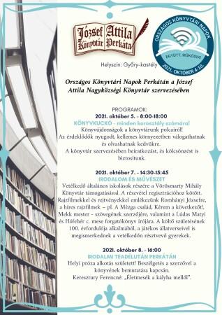 József Attila Könyvtár (Perkáta) szervezésében Helyszín Győry-kastély (1)